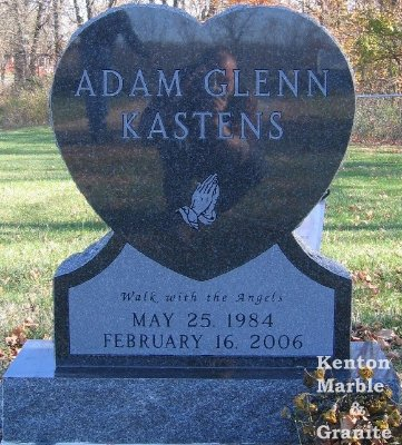 Heart Shaped Monuments Kenton Marble Amp Granite
